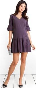 Sukienka Happymum z tkaniny