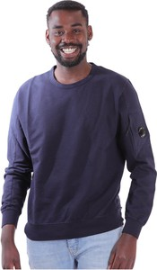 Sweter C.P. Company z okrągłym dekoltem z wełny
