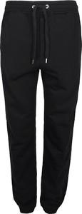 Czarne spodnie sportowe Roberto Cavalli