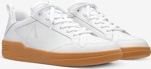 Buty sportowe Arkk Copenhagen sznurowane ze skóry z płaską podeszwą