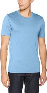 Błękitny t-shirt selected homme