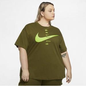 T-shirt Nike z okrągłym dekoltem z krótkim rękawem w sportowym stylu
