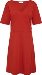Sukienka Vila z dekoltem w kształcie litery v mini