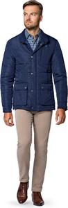 Niebieska kurtka LANCERTO w stylu casual