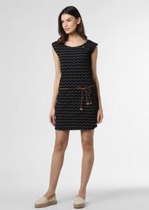 Sukienka Ragwear mini z dżerseju z okrągłym dekoltem