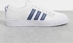 Fioletowe buty sportowe Adidas Originals