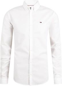 Koszula Tommy Jeans z bawełny z klasycznym kołnierzykiem