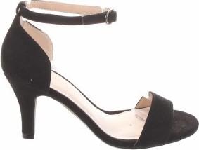 Czarne sandały Bianco z klamrami