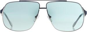 Miętowe okulary damskie D&G