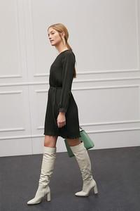 Sukienka More & More w stylu casual z długim rękawem