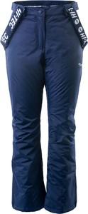 Granatowe spodnie sportowe Hi-Tec w sportowym stylu