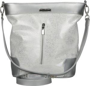 788d299576a91 Srebrna torebka Mb Classic Bag na ramię w wakacyjnym stylu