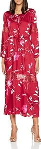 Czerwona sukienka rinascimento