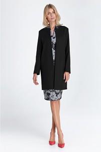 Czarny płaszcz Colett