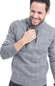 Sweter William De Faye z jedwabiu