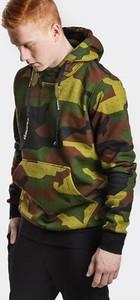 Bluza Stoprocent w militarnym stylu z dzianiny