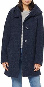 Niebieska kurtka amazon.de długa w stylu casual