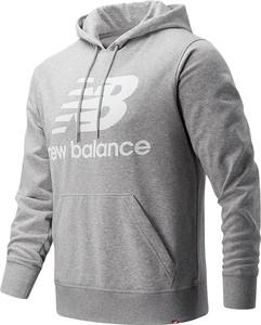 Bluza New Balance z bawełny w młodzieżowym stylu