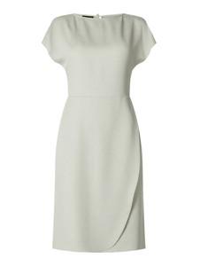 Miętowa sukienka Emporio Armani z krótkim rękawem