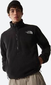 Czarna bluza The North Face w sportowym stylu z plaru