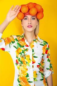 Sukienka Zoio koszulowa z bawełny