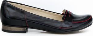 Baleriny Zapato ze skóry w stylu vintage