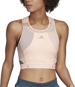 Bluzka Adidas w sportowym stylu z dżerseju