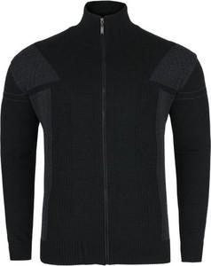 Czarny sweter Devir z wełny