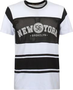 T-shirt Glo-Story z krótkim rękawem z bawełny