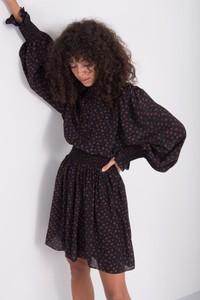 Czarna sukienka Sheandher.pl mini w stylu casual