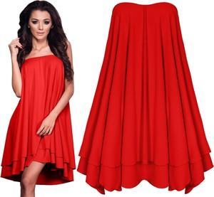 Sukienka magmac bez wzorów na randkę