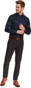 Koszula Top Secret w stylu casual z nadrukiem z długim rękawem