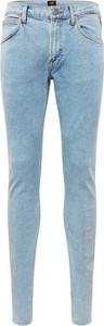 Niebieskie jeansy Lee z jeansu