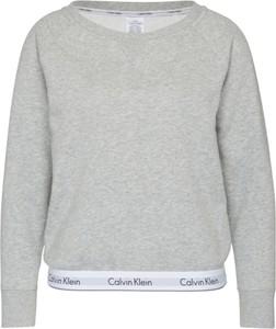 Bluza Calvin Klein Underwear w sportowym stylu krótka z dresówki