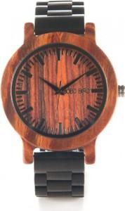 Geneva zegarek damski na czerwonym pasku
