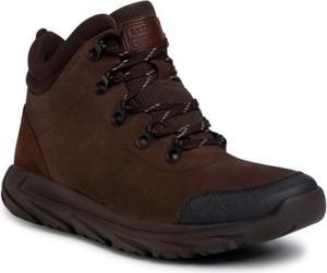 Brązowe buty zimowe Lasocki For Men