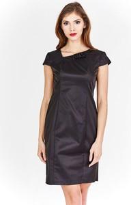 Sukienka Fokus midi ołówkowa bez rękawów