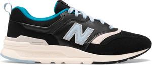 Buty sportowe New Balance w sportowym stylu ze skóry