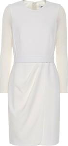 Sukienka MaxMara z okrągłym dekoltem w stylu casual mini