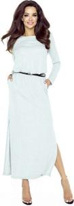 Sukienka Nubile z okrągłym dekoltem z długim rękawem