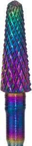 Em Nail Professional Frez wolframowy multicolor stożek do usuwania masy