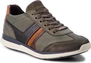 Buty sportowe Togoshi w sportowym stylu sznurowane z zamszu
