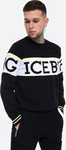 Sweter Iceberg z okrągłym dekoltem w młodzieżowym stylu