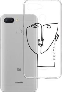 Etui amortyzujące uderzenia do Xiaomi Redmi 6 Global, z unikatową grafiką 3D ferya HER