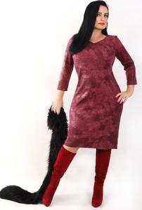 7e5809b7d5 sukienka imitacja skóry - stylowo i modnie z Allani