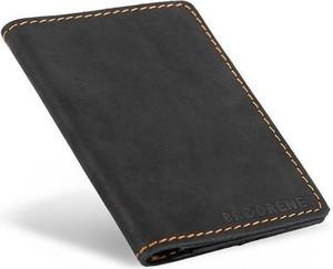 Czarny portfel męski Brødrene