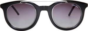 Czarne okulary damskie Made In Italia
