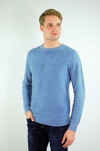 Niebieski sweter Pepe Jeans w stylu casual z bawełny
