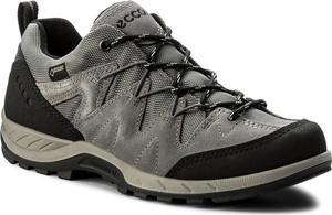 Buty trekkingowe ecco bez wzorów z płaską podeszwą