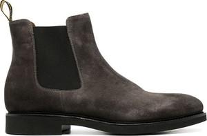 Brązowe buty zimowe Doucal's